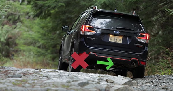 Dual X-mode on 2019 Subaru Forester