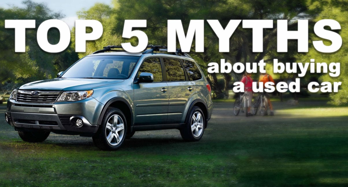 used car myths