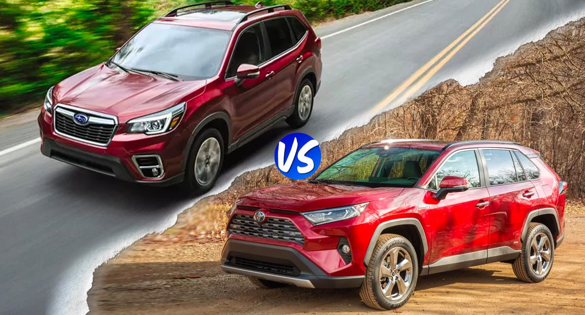 Forester vs Rav4