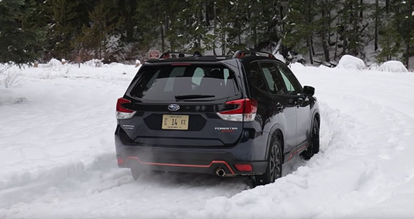 2-19 Subaru Forester cannot get stuck