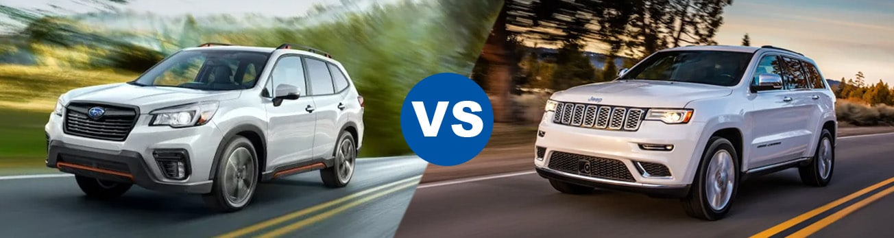 2019 Forester vs grand cherokee