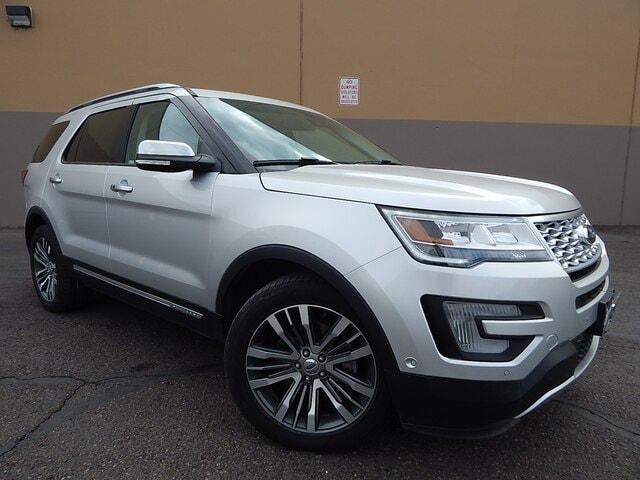 Used 2017 Ford Explorer Platinum SUV Twin Falls ID