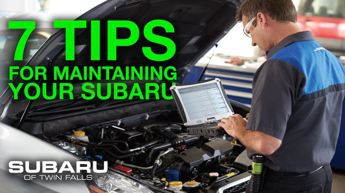 Subaru maintenance tips