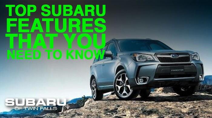 Top Subaru Features