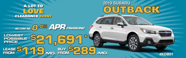 Subaru Outback Special at Subaru of Wakefield | Massachusetts | Near