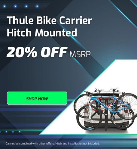 Thule Bike Carrier Hitch Mounted