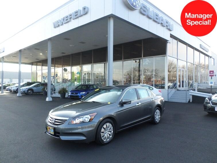 Used 2012 Honda Accord 2.4 LX Sedan for sale in Wakefield near Boston.