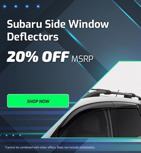 Subaru Side Window Deflectors
