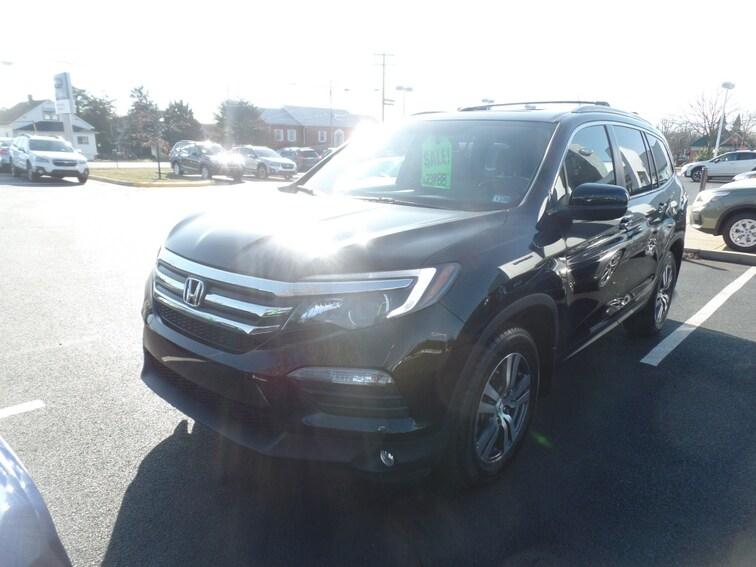 Used 2016 Honda Pilot EX-L SUV for sale in Winchester, VA