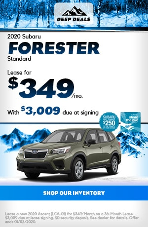 Dec 2020 Subaru Forester Standard