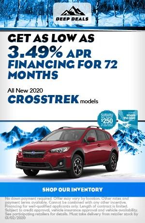 Dec All New 2020 Crosstrek models