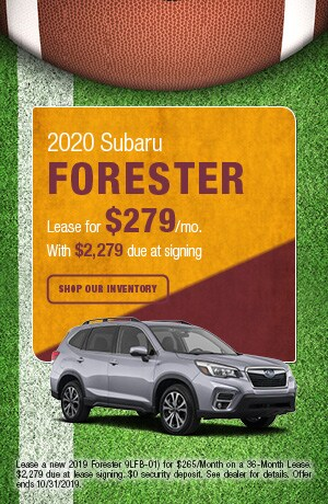 October-2020 Forester