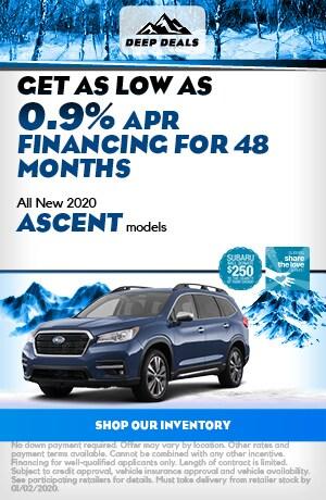 Dec All New 2020 Ascent models