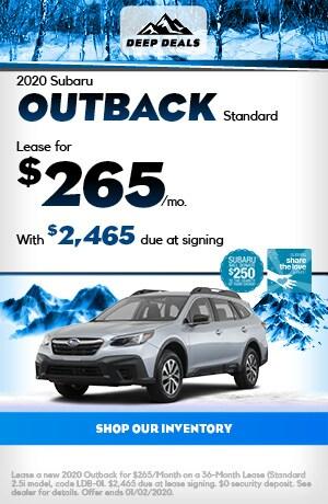 Dec 2020 Subaru Outback Standard