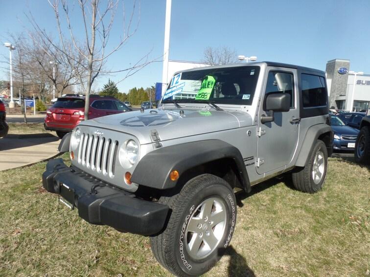 Used 2012 Jeep Wrangler Sport SUV for sale in Winchester, VA