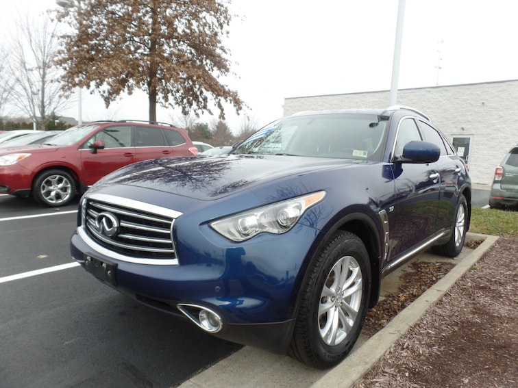 Used 2015 INFINITI QX70 SUV for sale in Winchester, VA