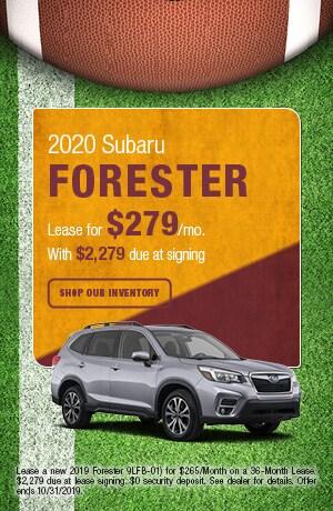 October-2019 Forester