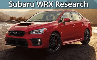 Subaru WRX serving Scranton