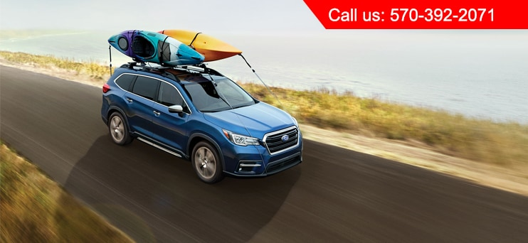 Blue Subaru Ascent For Sale Wyoming Valley PA