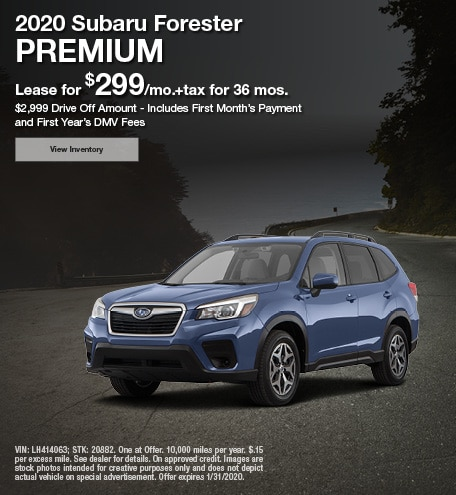 2020 - Forester - January
