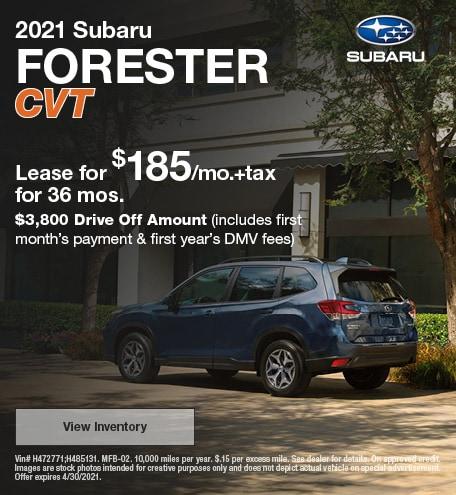 April | 2021 Forester