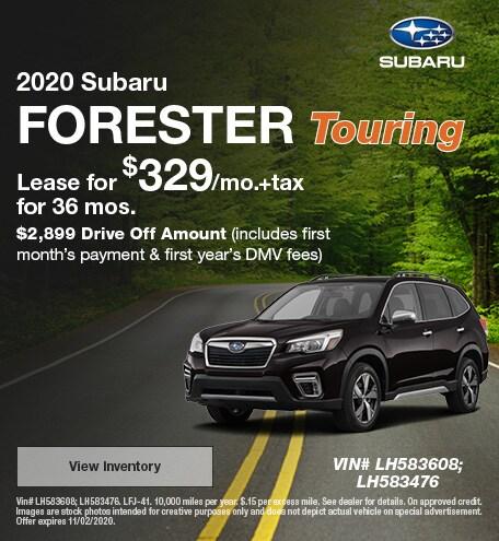 2020 - Forester - October