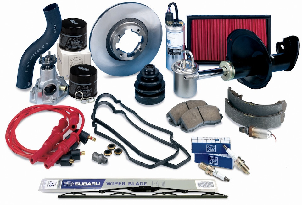 Fill Out Our Subaru Parts Request Form Below
