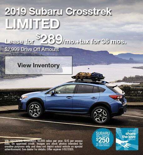2019 - Crosstrek - December