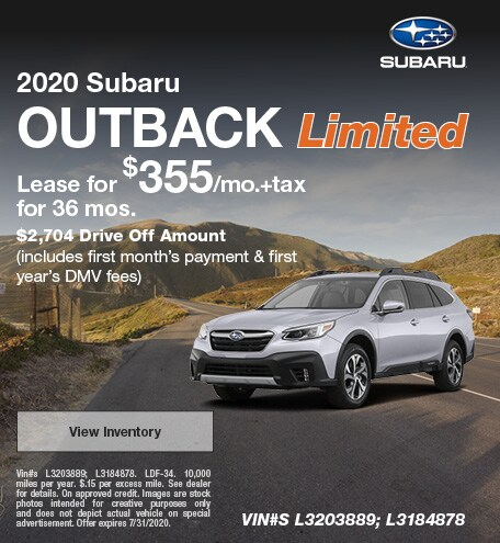 2020 - Outback - July