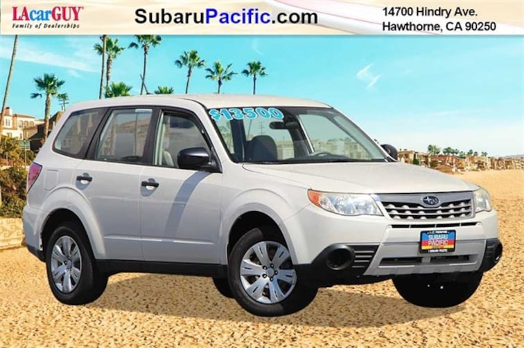Used 2012 Subaru Forester 2.5X SUV in Torrance, California