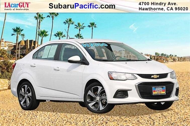 Used 2017 Chevrolet Sonic Premier Sedan in Torrance, California