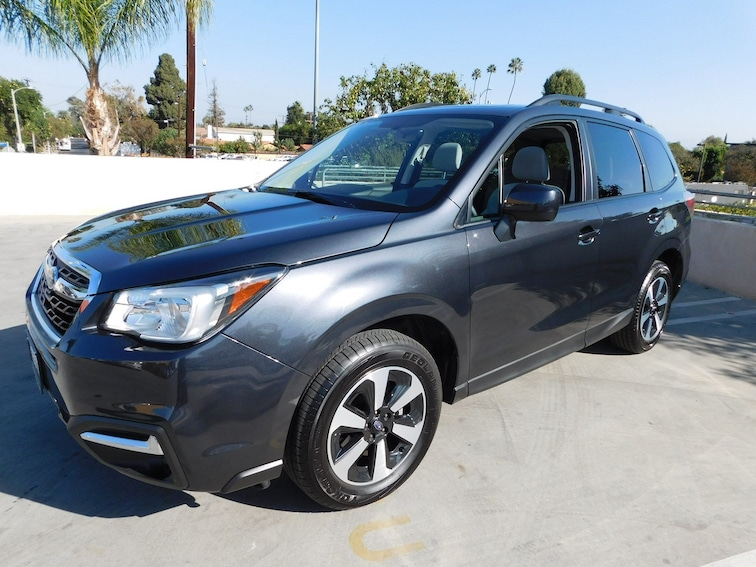 Certified Used 2018 Subaru Forester 2.5i Premium SUV ZF802821L-S Van Nuys California