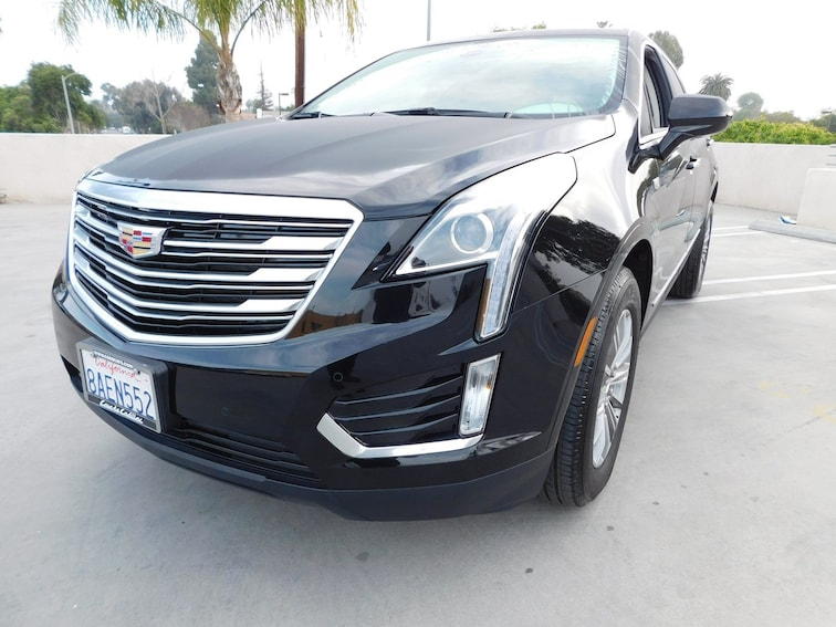 Certified Used 2018 CADILLAC XT5 Luxury SUV P2250-C Van Nuys California