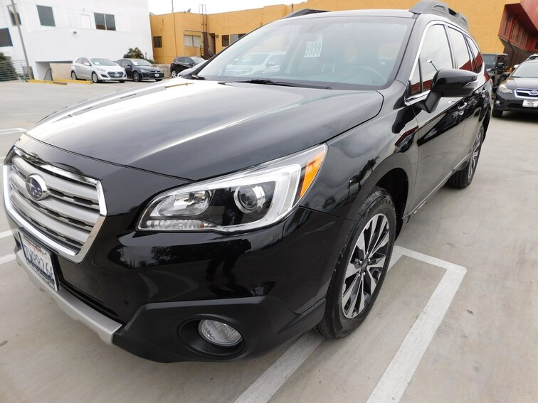 Used 2017 Subaru Outback 2.5i Limited with SUV 901606A-S Van Nuys California