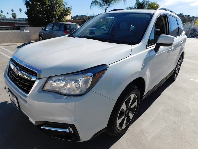 Certified Used 2018 Subaru Forester 2.5i Premium SUV ZF802872L-S Van Nuys California
