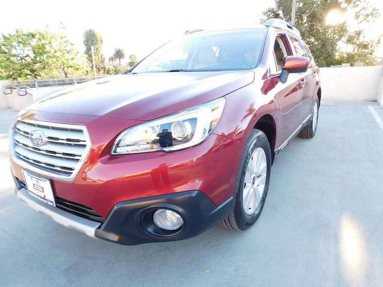 Certified Subaru 2017 Subaru Outback For Sale Van Nuys Ca
