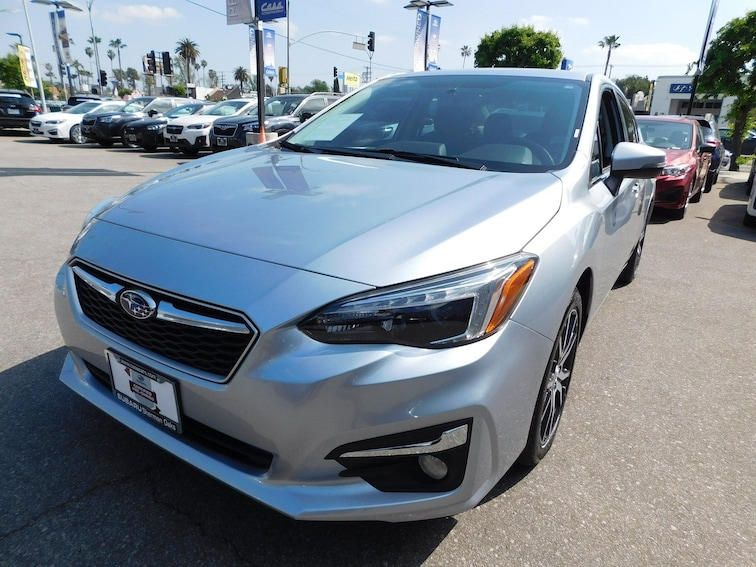 Certified Used 2017 Subaru Impreza 2.0i Limited Sedan ZU0368-S Van Nuys California