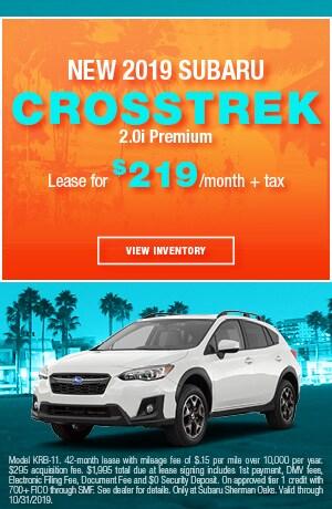 October 2019 - Crosstrek