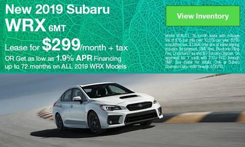 2019 Subaru WRX - April