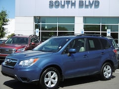 Certified Pre-Owned 2015 Subaru Forester 2.5i Premium SUV for sale in Charlotte NC at Subaru Concord - near Charlotte NC