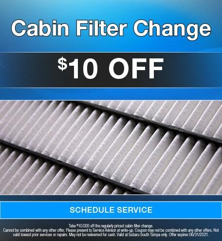 Cabin Filter Change