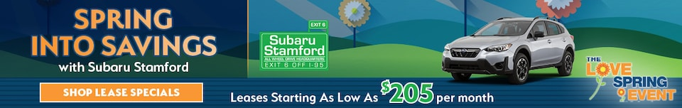 Spring Into Savings with Subaru Stamford