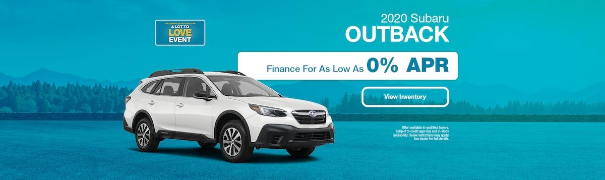 2020 Subaru Outback Financing Offer