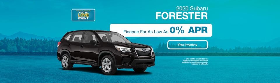 2020 Subaru Forester Financing Offer