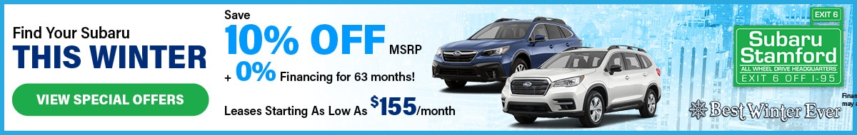 January New Vehicle Specials