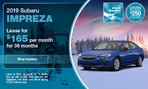 Lease Specials Near Me >> New Subaru Lease Offers And Finance Specials At Subaru