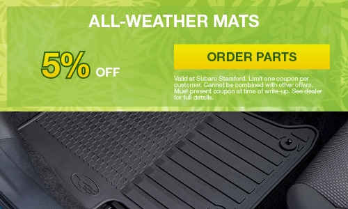 5% OFF All Weather Mats
