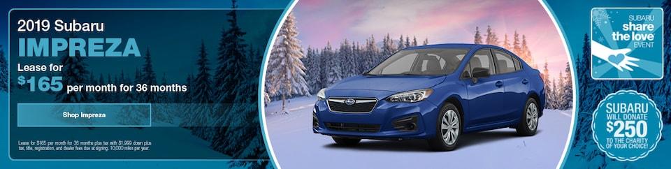 2019 Subaru Impreza Lease