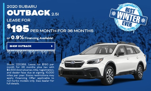 Subaru 0 Financing >> New Subaru Lease Offers And Finance Specials At Subaru