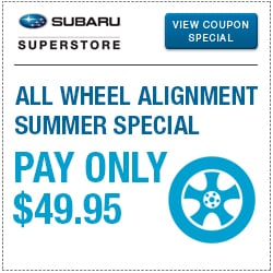 Browse our alignment service special at Subaru Superstore of Surprise